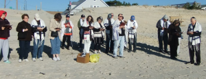 Shacharit at the Beach