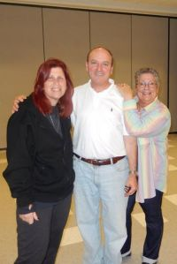 Susan Werk, Rabbi Jay and Bonnie Farin: They made it happen!