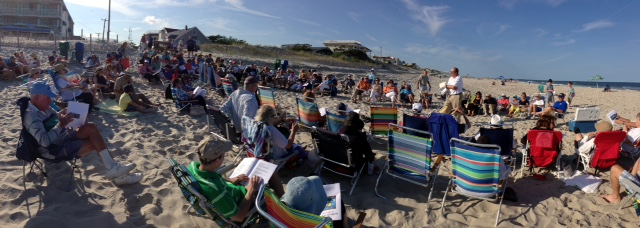July 2015 Shabbat on beach