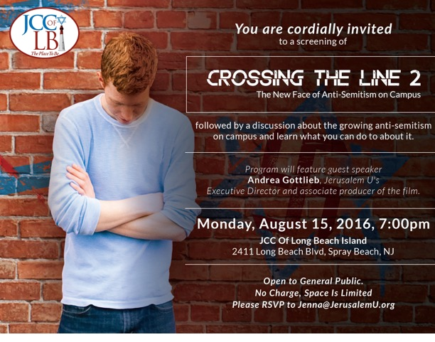 crossing the line 2016 flyer